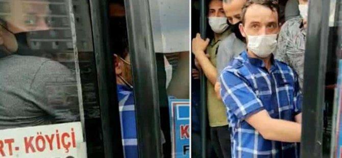 İstanbul'da 14 kişilik minibüsten 42 kişi çıktı...Rekor 37 kişiydi
