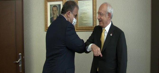 Faiz Sucuoğlu,  CHP Genel Başkanı Kemal Kılıçdaroğlu'yla görüştü