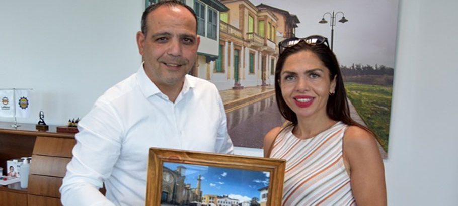Harmancı Muratpaşa Belediyesi Başkan Yardımcısı Kansu'yla görüştü