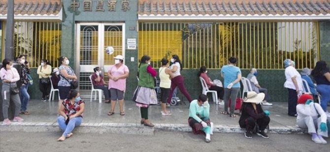 Peru'da Son 24 Saatte Kovid-19 Nedeniyle 181 Kişi Öldü