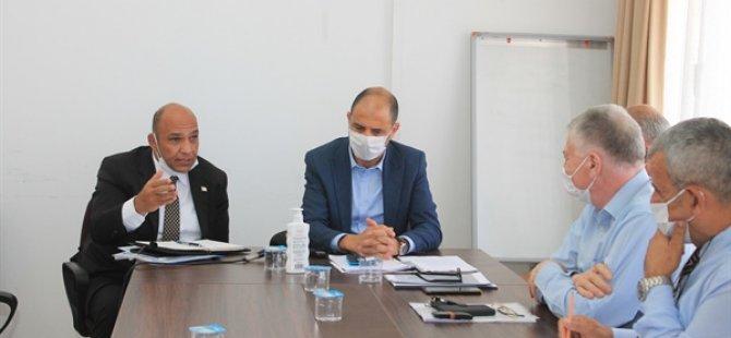 Özersay ve Atakan, Lefke ilçesinin sorunlarının görüşüldüğü toplantıya katıldı