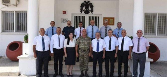 Emekli Subaylar Derneği, Güvenlik Kuvvetleri Komutanı'nı Ziyaret Etti