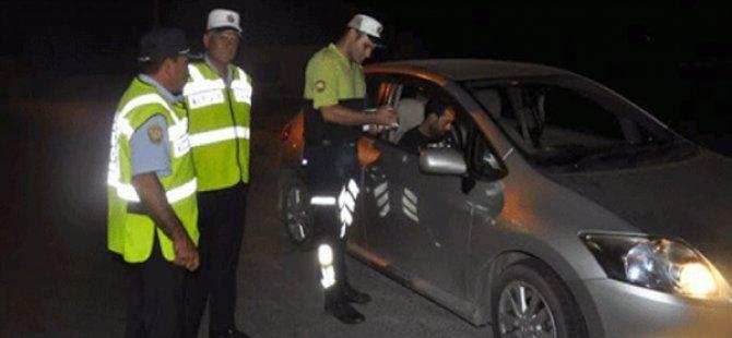 Girne'de Asayiş ve Trafik Denetimi Yapıldı