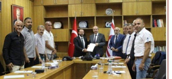 Spor İhtisas Komisyonu ilk toplantısını Başbakan Ersin Tatar başkanlığında yaptı