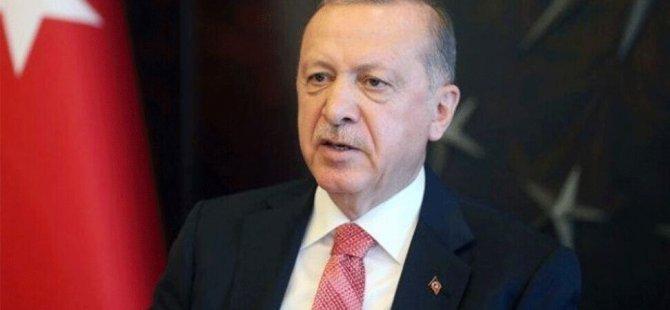 """Erdoğan: """"Bazı ülkeler, KKTC ve Türkiye'nin Akdeniz'deki haklarını gasp etmek istedi"""""""