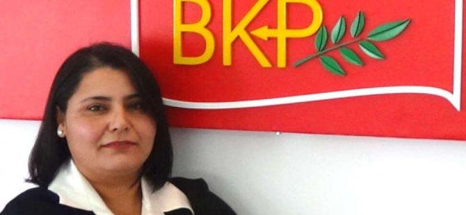 BKP Kadın Meclisi, ülkede yaşanan şiddet olaylarını kınadı.