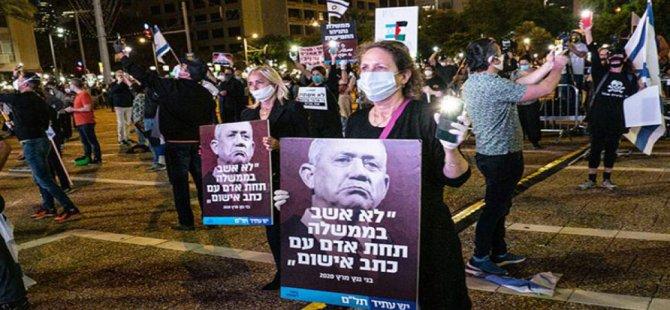 İsrail'de Başbakan Netanyahu karşıtı gösteriler devam ediyor