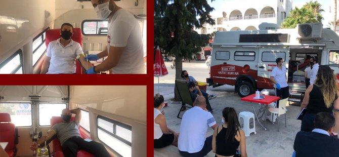 Döveç Group'tan Kan Bağışı