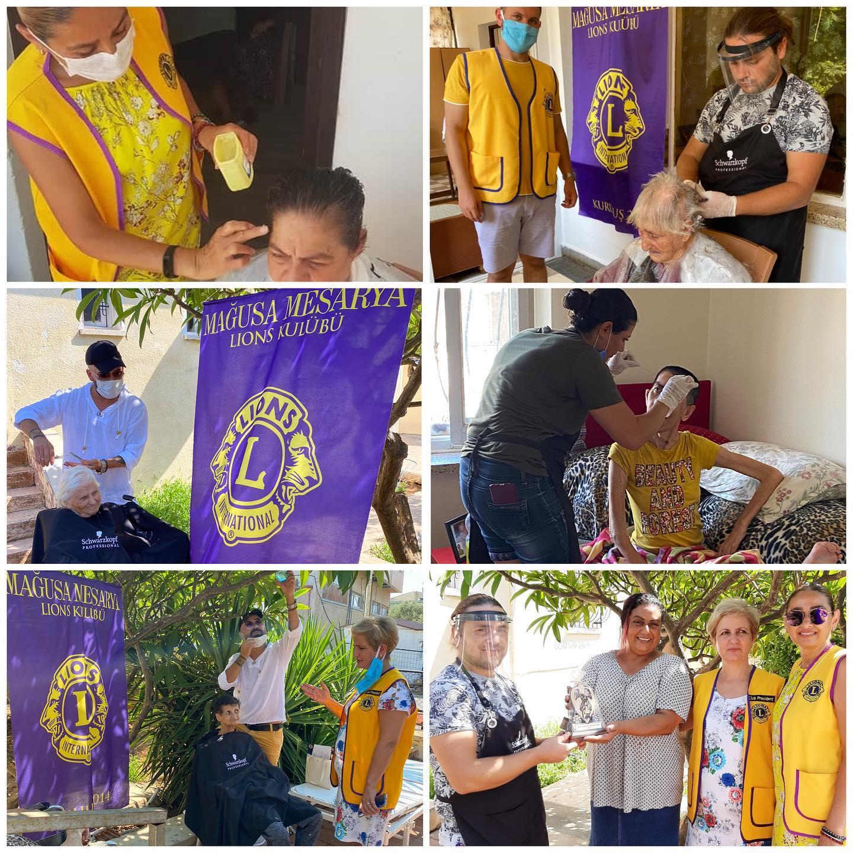 Mağusa Mesarya Lions Kulübü'nden iki anlamlı etkinlik