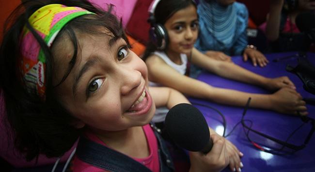 Gazzeli çocuklar seslerini Fransa'da duyuracak