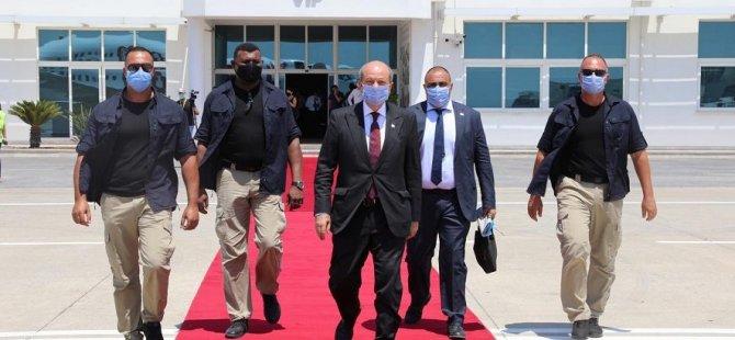 Başbakan Tatar Ankara'ya gitti