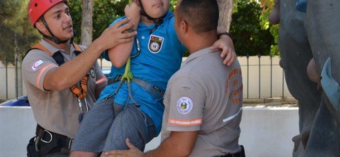 KIFSAD, Sivil Savunma Teşkilatı Başkanlığı'nda Çekim Yaptı