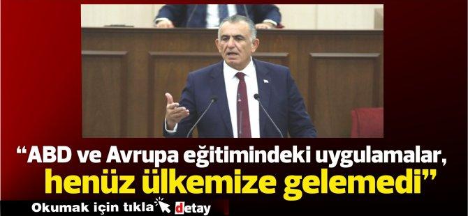 """Çavuşoğlu: """"ABD ve Avrupa eğitimindeki uygulamalar, henüz ülkemize gelemedi"""""""