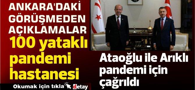 Ankara'daki görüşmeden açıklamalar