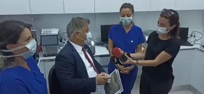 Pilli, yenilenen Lefkoşa Dr Burhan Nalbantoğlu Devlet Hastanesi DNA Laboratuvarı'nı ziyaret etti
