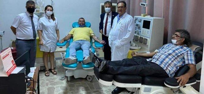 Covid-19 virüsünü atlatan vatandaşlardan plazma bağışı