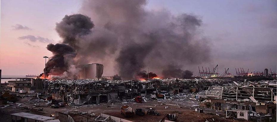 Beyrut limanındaki patlamada 100 kişi yaşamını yitirdi, 4 bine yakın yaralı var