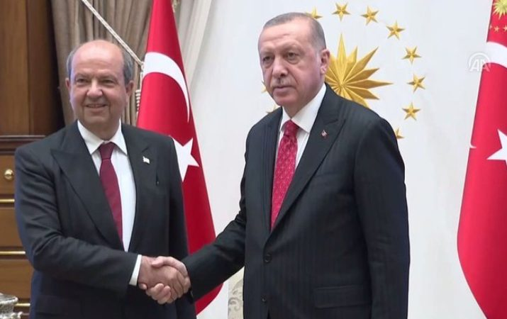 TC Cumhurbaşkanı Erdoğan Başbakan Tatar'ı kabul etti