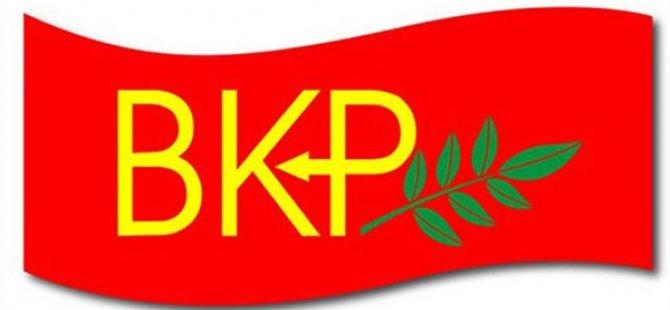 BKP Seçim Sonuçlarını Değerlendirdi