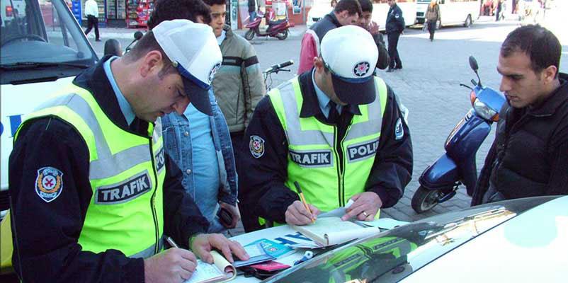 Haftalık trafik bilançosu: 5 yaralı, 766 trafik suçu