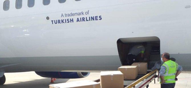 Türkiye'den KKTC'ye tıbbi malzeme yardımı