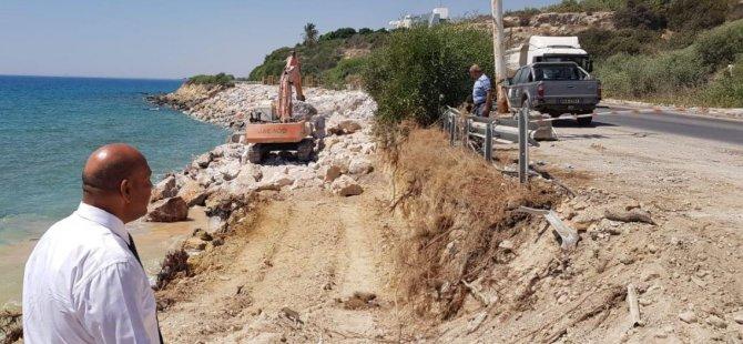 Bayındırlık ve Ulaştırma Bakanı Tolga Atakan,  İskele-Çayırova Yol Çalışmasını Yerinde İzledi.