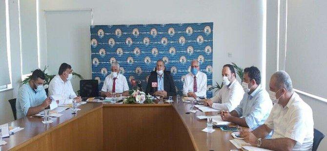 Belediyeler Birliği Yürütme Kurulu Toplantısının 7'ncisi Gazimağusa Belediyesi'nde Yapılıyor.