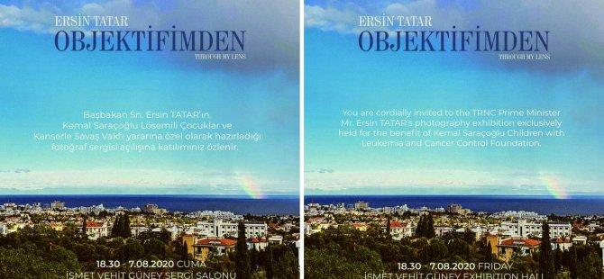 Başbakan Ersin Tatar Fotoğraf Sergisini Sunuyor.