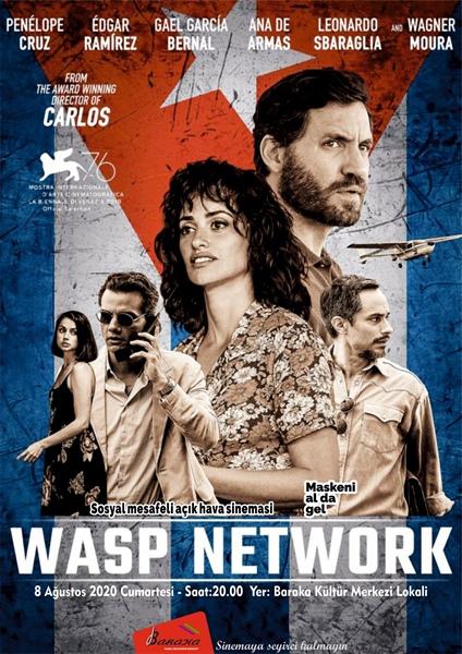 """Baraka Kültür Merkezi'nin İzle-Tartış Etkinliği Kapsamında Yarın Akşam """"Wasp Network"""" Filmi İzlenecek"""