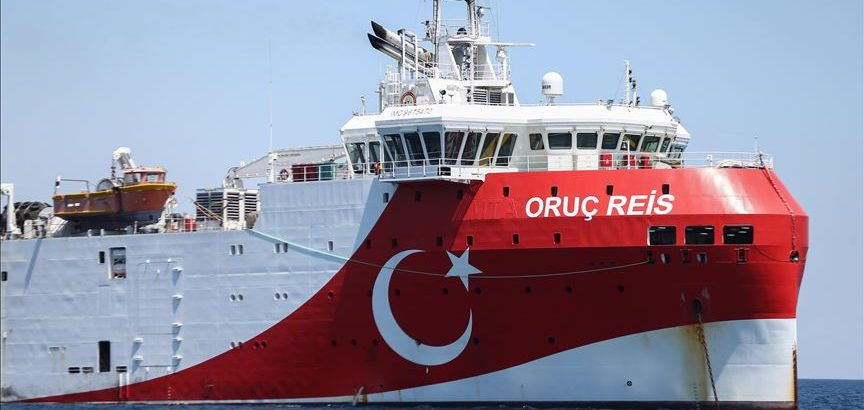Oruç Reis sismik araştırma gemisi, Doğu Akdeniz'deki çalışmalarını sürdürecek