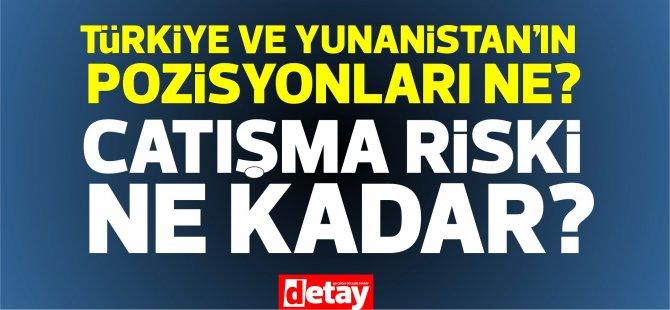 Doğu Akdeniz: Türkiye ve Yunanistan'ın pozisyonları ne, sıcak çatışma riski var mı?