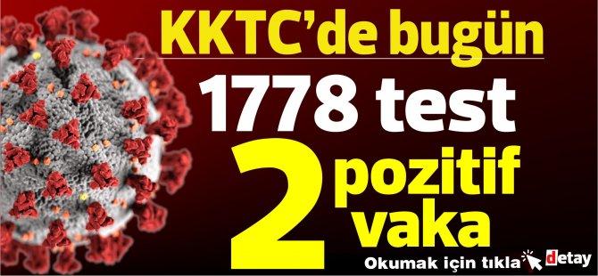 Bakan Pilli:Toplam 1778 test yapıldı, 2 pozitif vakaya rastlandı, 1 kişi taburcu edildi
