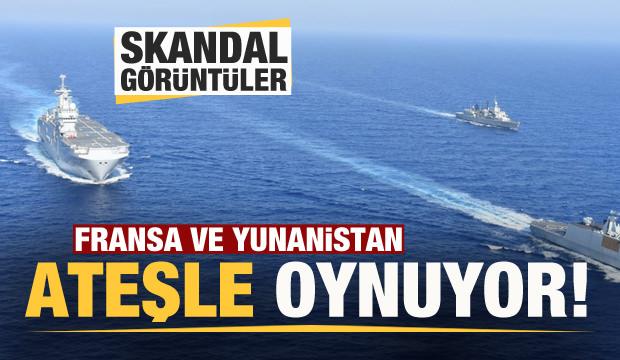 Doğu Akdeniz'de gerginlik (VİDEO HABER)