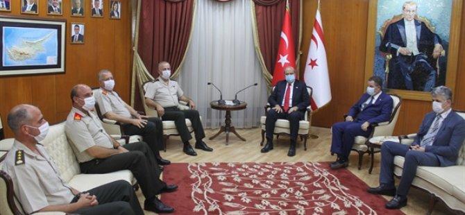 Başbakan Tatar, KTBK ve GKK Komutanlarını kabul etti