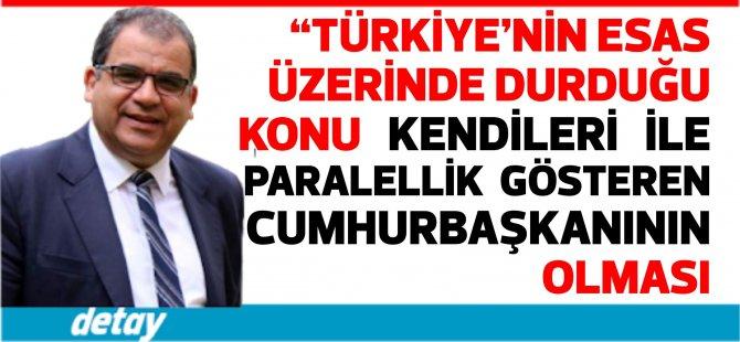 """Beyaz Ev toplantısından sonra Sucuoğlu: """"Türkiye'nin esas üzerinde durduğu konu kendileri ile paralellik gösteren bir Cumhurbaşkanının olması"""""""