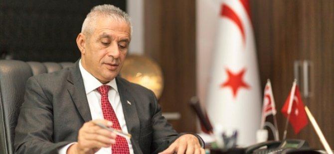 Hasan Taçoy UBP Genel Başkanlığı İçin Aday Olacağını Açıkladı..
