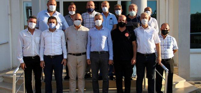 Uluçay, Beraberinde Milletvekilleri İle Birlikte Mehmetçik'i Ziyaret Etti