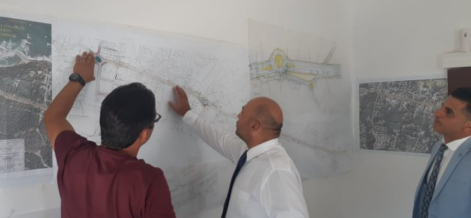 Atakan: Girne Batı Çevreyolu çalışmalarını yerinde denetledi