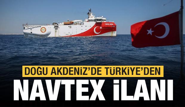 Akdeniz'de yeni Navtex ilanı