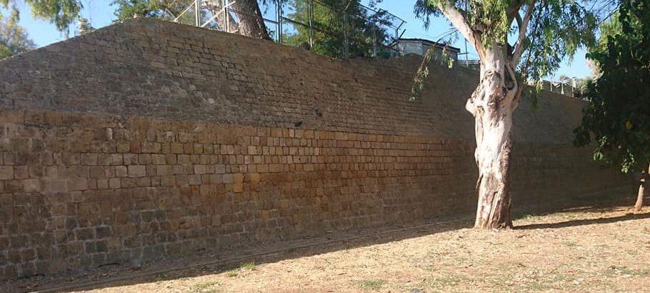 Lefkoşa'daki surların bir bölümünün temizliği tamamlandı