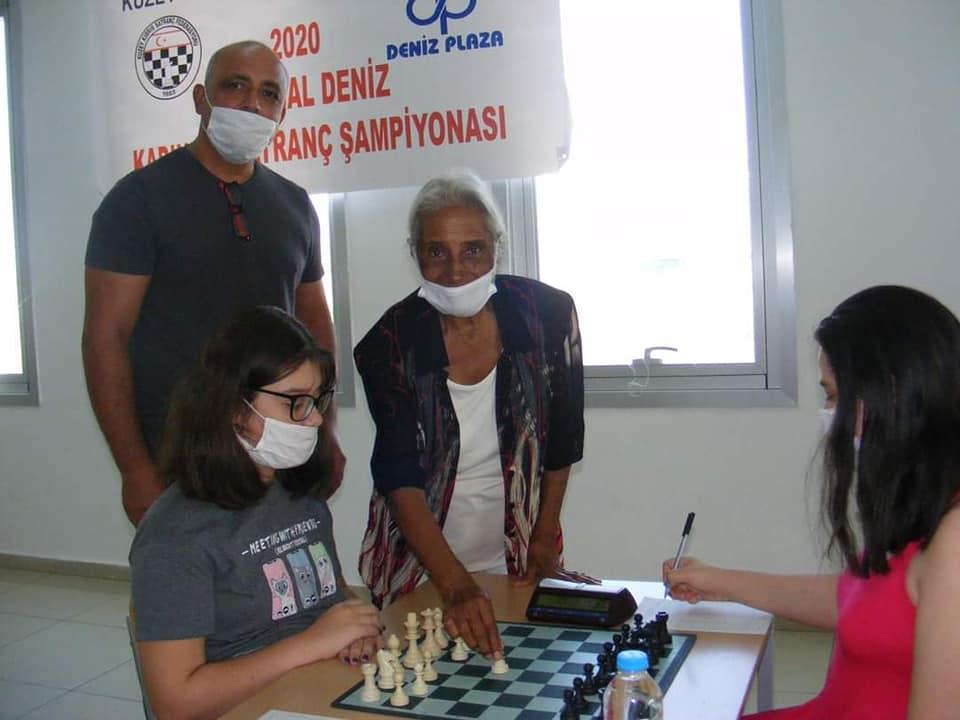 M. Kemal Deniz 2020 KKTC Kadınlar Satranç Şampiyonu Ayşen Sağlamer!