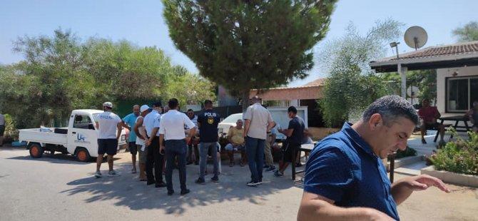 Kamp alanındakilere Yeniboğaziçi Belediyesi'nden 15 günlük ihbar