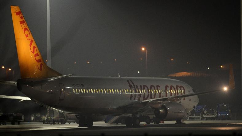 Uçakta korsan krizi bitti