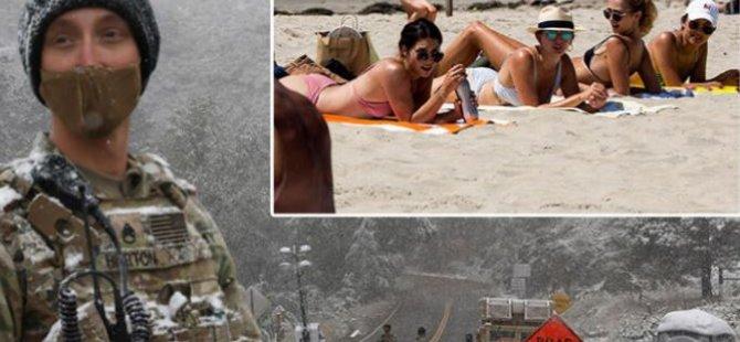 Felaket filmi gibi! Sıcaklık 18 saatte 30 derece düştü, dünya şokta!
