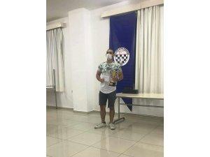 """Yamaç Samani, """"VI. Bireysel Federasyon Kupası"""" Satranç Şampiyonu"""