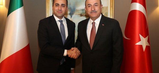 TC Dışişleri Bakanı Çavuşoğlu, İtalyan Mevkidaşıyla Görüştü