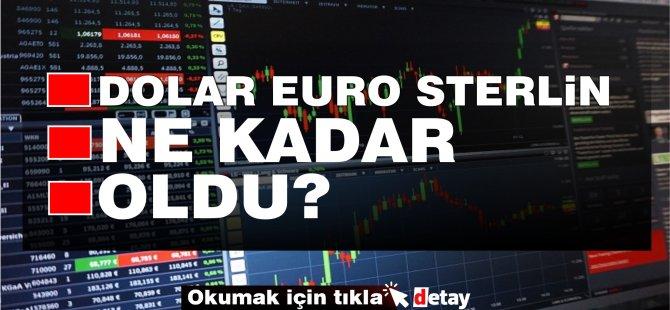 Euro 9, Sterlin 10 TL... Dövizde yükseliş devam ediyor....