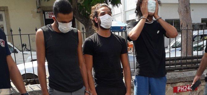 Alsancak'ta uyuşturucu yakalatmışlardı