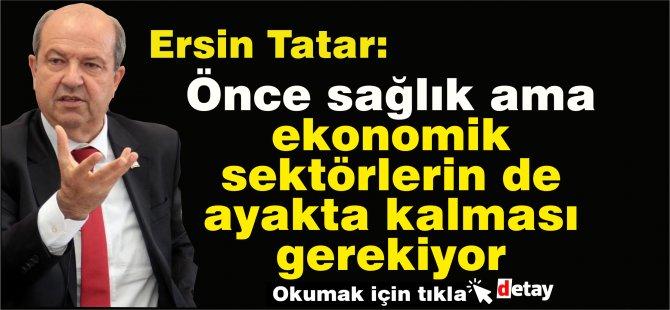 BaşbakanErsin Tatar, Bankalar Birliği'ni ziyaret etti