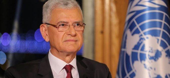 Bozkır, BM Genel Kurulu Başkanlığı Görevine Başladı